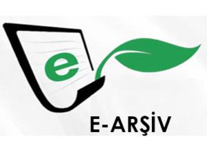 E- Arşiv E-Fatura Sistemine Giriş.