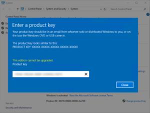 Windows Server 2012 de ürün anahtarı değiştirmek!